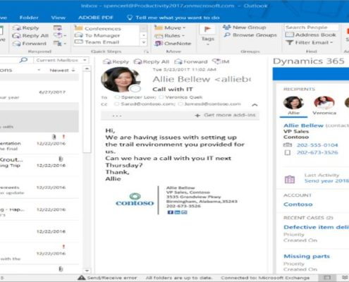 E-mail - Outlook - Sakshåndtering