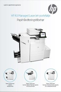 HP A3 Managed LaserJet-portefølje - HP Guide for papirhå