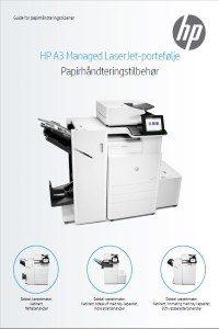 HP A3 Managed LaserJet-portefølje - HP Guide for papirhå