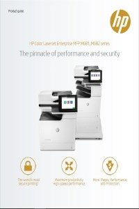HP Color LaserJet Enterprise MFP M681-2 serien