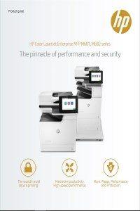 HP Color LaserJet Enterprise MFP M681-2 serien