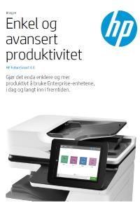 HP FutureSmart 4.0 - Enkel og avansert produktivitet