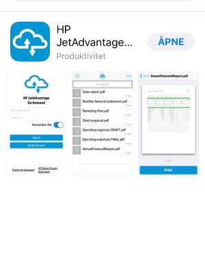 HP JetAdvantage On Demand