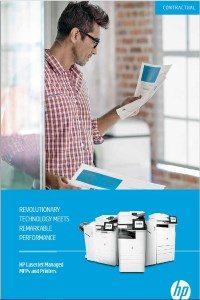 HP LaserJet Managed MFPer og skrivere