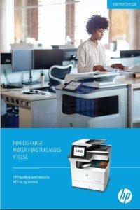 HP PageWide Managed MFPer og skrivere