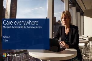 Microsoft Dynamic 365 Customer Service