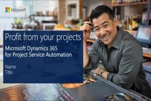 Microsoft Dynamic 365 Project Service Automation Solution