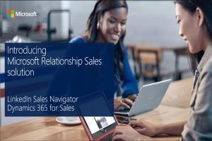 Microsoft Relationship Sales Solution