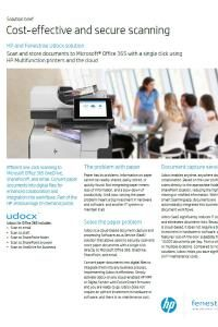 HP and Fenestrae Udocx solution