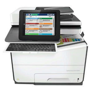 HP PageWide Managed Color MFP Enterprise E58650z A4 Farge)